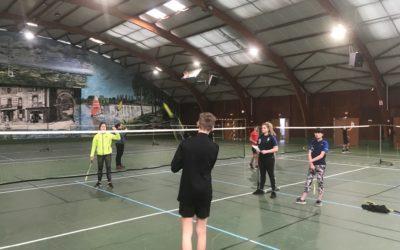 Compétition district badminton établissement et tennis de table benjamins ce mercredi 5 février