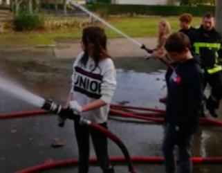 Petit retour en vidéos du passage des cadets à la caserne des pompiers
